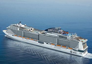 Nave: MSC Meraviglia