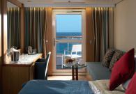 Century Suite con balcone sul mare