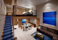 Sky loft Suite con gran balcone sul mare