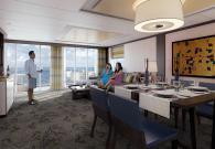 Owner Suite con gran balcone sul mare