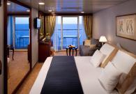Club Esterna con balcone sul mare
